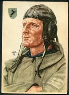 AVIATEUR ALLEMAND - GTUTAFLIEGER - ILLUSTREE PAR W.WILRICH - Guerre 1939-45
