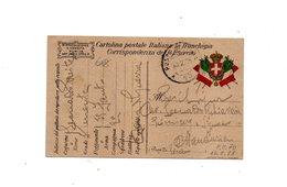 "LAB618- REGNO 10/2/1918 , Cartolina Postale Franchigia "" P.M. 70 "". - 1900-44 Vittorio Emanuele III"