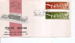Bouthan - UPU ( FDC De 1970 à Voir) - Bhutan