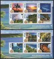 Niue 2009 - Mi-Nr. Block 158-159 ** - MNH - Natur - Niue
