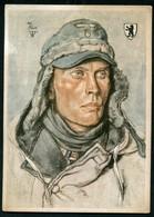 SOLDAT ALLEMAND - LEUTNANT D. RES. KURT DIX - ILLUSTREE PAR W.WILRICH - Weltkrieg 1939-45
