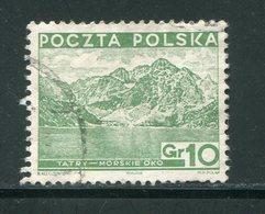 POLOGNE- Y&T N°380- Oblitéré - 1919-1939 Republic