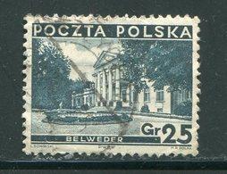 POLOGNE- Y&T N°363- Oblitéré - 1919-1939 Republic