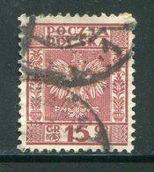 POLOGNE- Y&T N°358- Oblitéré - 1919-1939 Republic