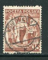 POLOGNE- Y&T N°403- Oblitéré - 1919-1939 Republic