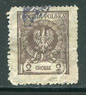 POLOGNE- Y&T N°288- Oblitéré - 1919-1939 Republic