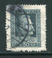 POLOGNE- Y&T N°343- Oblitéré - 1919-1939 Republic
