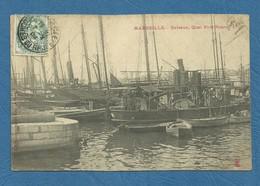 MARSEILLE- Bateaux , Quai Rive Neuve . ( Ref 198) - Autres