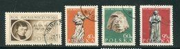 POLOGNE- Y&T N°839 à 842- Oblitérés - 1944-.... República