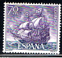 (3E 573) ESPAÑA  // EDIFIL 1603 // Y&T 1261 // SHIP GALEON // 1964 - 1931-Aujourd'hui: II. République - ....Juan Carlos I