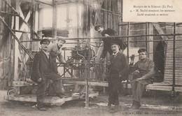 Martyrs De La Science ( Le Pax) M  Saché Essayant Les Moteurs T - - Aeronaves