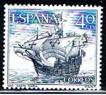 (3E 571) ESPAÑA  // EDIFIL 1601 // Y&T 1259 // SHIP NAO SANTA MARIA  // 1964 - 1931-Aujourd'hui: II. République - ....Juan Carlos I