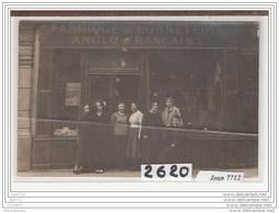 6486 AK/PC/CARTE PHOTO / 2620 /DEVANTURE FABRIQUE DE BONNETERIE ANGLO FRANCAISE - Cartoline