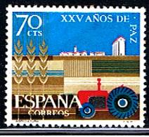 (3E 543) ESPAÑA  // EDIFIL 1580 // Y&T 1232 // 1964 - 1931-Aujourd'hui: II. République - ....Juan Carlos I