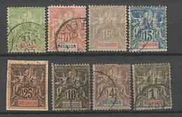 LOT REUNION OBL - Réunion (1852-1975)