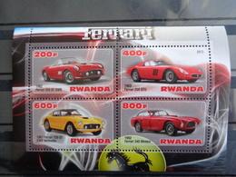 RWANDA BLOC 2013 ** - FERRARI DIVERSES - Non Classés