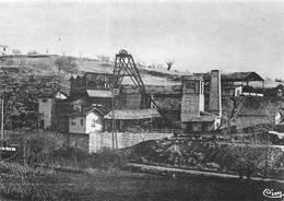Sigonce Carte Sépia Moderne Mine Mines Canton Forcalquier - Autres Communes
