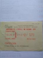 Argentina The Rare Registration Receipt Frama Machine With Legendario Small Letters Campeonato Mundial De Fútbol 1978 - Coppa Del Mondo