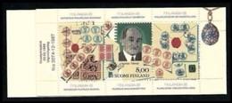 FINLANDIA 1988 - FILATELIA - LIBRETTO / BF N. 1014 ** , Serie Compl.  - Cat. 27 € - Lotto N. 121 - Finlandia