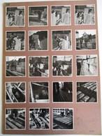 19 PHOTOGRAPHIES ANCIENNES PARIS CONSTRUCTION D'UN PONT CARRIERE DE PIERRE METIER REPORTAGE PHOTOGRAPHIQUE NOËL LE BOYER - France