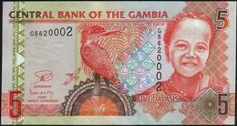 GAMBIA - 5 Dalasis Nd.(2006-2014) UNC P.25 C - Gambia