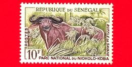 SENEGAL - Nuovo - 1960 - Parco Nazionale Niokoko-Koba - Bufalo - 10 - Senegal (1960-...)