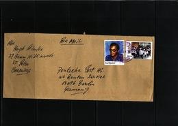 Barbados 2018  Interesting Airmail Cover - Barbados (1966-...)
