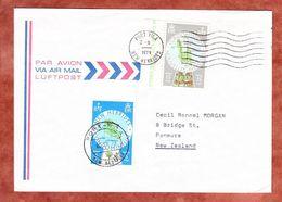 Luftpost, MiF Inseln, Port Villa Nach Panmure 1979 (70604) - Neue Hebriden