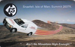 Isle Of Man, 15IOMA, DHL Van, Mint, 2 Scans - Isle Of Man