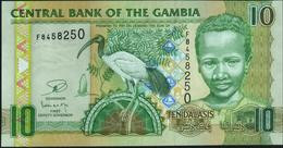GAMBIA - 10 Dalasis Nd.(2006-2013) UNC P.26 C - Gambia