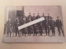 1914 Amiens Fontenay Le Comte 18 Eme Bataillon De Chasseurs à Pieds Tranchées Poilus 1914 1918 14-18 1cph - War, Military