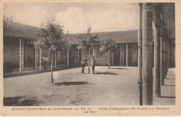 Algérie . Station Climatique De Laverdure . Centre D' Hébergement Des Enfants à La Montagne .La Cour . - Algeria