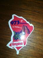 Magnet Le Gaulois Nouveau Département 973 GUYANE Cayenne - Magnets