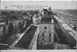 Blankenberge, Panorama De La Ville Et De La Plage -> Beschreven - Blankenberge