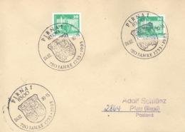 DDR Beleg Mit Sonderstempel Pirna 750 Jahre 1983 - [6] République Démocratique