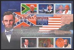 Liberia 2001 - Mi-Nr. 3708-3713 ** - MNH - Berühmte Personen - Liberia