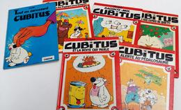 CUBITUS 6 Tomes EO , éditions Originales 1ère Série T4 + T4 + T7 + T8 + T10 + T16 - Cartonné - EO - (1975/1987) - Livres, BD, Revues