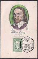 Argentina - 1959 - FDC - William Harvey - Physiologiste Anglaise - Découvreur De La Circulation Sanguine - Medicina