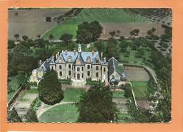 CPSM Grand Format - EN AVION AU DESSUS DE ... LE QUESNOY - Chateau Du Pont Mantou - Le Quesnoy