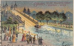 AK - Wien II. - PRATER - Gruss Von Der Wasserrutschbahn In Venedig In Wien 1900 - Unclassified