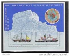 2001 Allem. Fed. Mi Bl. 57 **MNH 100 Jahre Deutsche Antarktisforschung - [7] République Fédérale