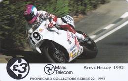 Isle Of Man, 19IOMA, TT Racers 1993, Steve Hislop, Mint, 2 Scans. - Isla De Man