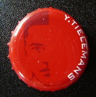 (db-193) Belgium - Belgique - België Jupiler - Red Devils - Diables Rouges - Rode Duivels - Youri Tielemans - Bière