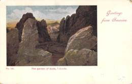 Greetings From America - The Garden Of Gods,Colorado 1899 AKS - Gruss Aus.../ Grüsse Aus...