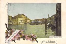 Saluti Da Venezia - Ponte Rialto 1898 AKS - Gruss Aus.../ Grüsse Aus...