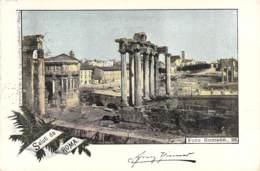 Saluti Da Roma - Foro Romano 1898 AKS - Gruss Aus.../ Grüsse Aus...