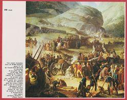 Une Armée Française Passe Le Col Du Saint Bernard En 1800. Tableau De Thévenin. Italie. Encyclopédie De 1970. - Autres