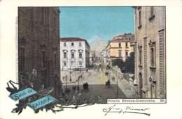 Saluti Da Catania - Strada Etenea-Stesicorea 1898 AKS - Gruss Aus.../ Grüsse Aus...