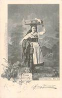 Gruß Aus Salzburg -  Salzburgerin 1898 AKS - Gruss Aus.../ Grüsse Aus...