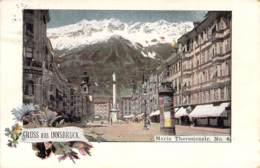 Gruß Aus Innsbruck -  Maria Theresienstr. 1898 AKS - Gruss Aus.../ Grüsse Aus...